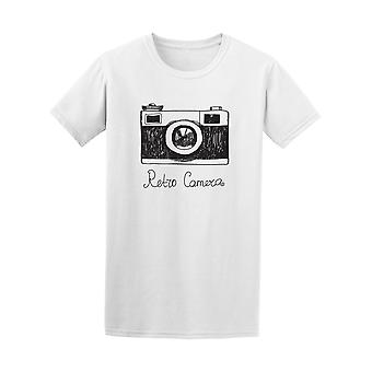 Hipster Retro Camera Drawing Tee - Image by Shutterstock