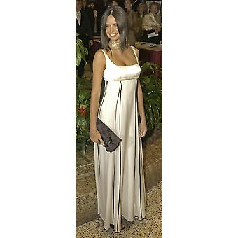 VictoriaS Secret Model Adriana Lima Arrives At The Annual White House CorrespondentS Association Dinner In Washington Dc May 1 2004 Comedian Jay Leno Delivered A Monologue As The Featured Guest At The