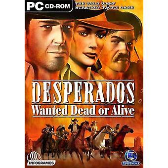 Desperados Wanted Dead or Alive (Pc CD) - Nouveau