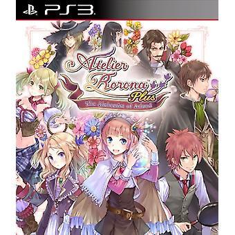 Atelier Rorona plus alkemisten av Arland (PS3)-ny