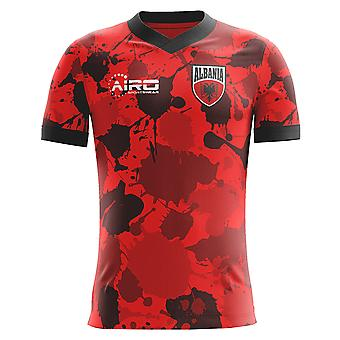 2020-2021 Albania Home Concept Football Shirt