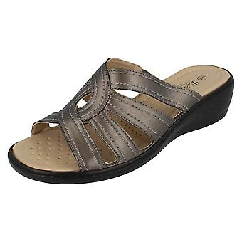 Ladies Eaze Peep Toe Sandals