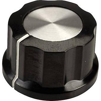 SCI RN-99D(6.4mm) Control knob Black, White (Ø x H) 26.8 mm x 15.8 mm 1 pc(s)