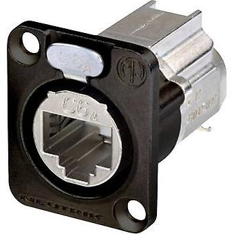 Data Connector RJ45 EtherCON D Serie Socket, geraden Anzahl der Pins: 8P8C NE8FDX-Y6-B schwarz Neutrik NE8FDX-Y6-B 1 PC