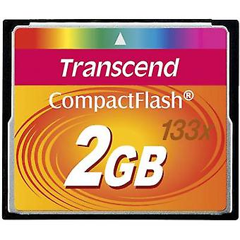 Transcend standard 133x Compact Flash-kort 2 GB