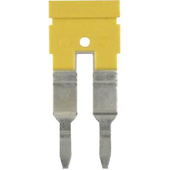 Weidmüller ZQV 4N/10 GE jumper aantal pinnen: 10 geel 1 PC (s)