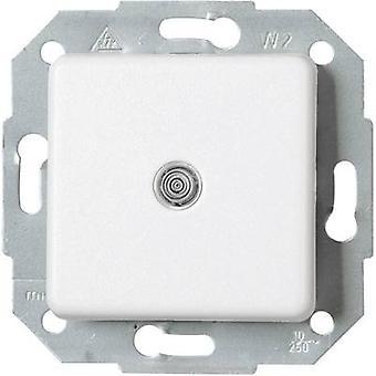 Interruptor de alavanca de inserir Kopp Europa Ártico branco, Matt 613698083