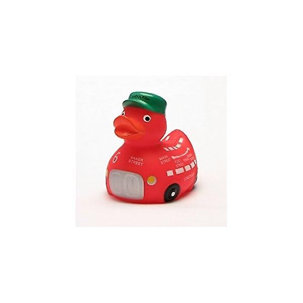Union Jack Wear London Red Bus Rubber Duck