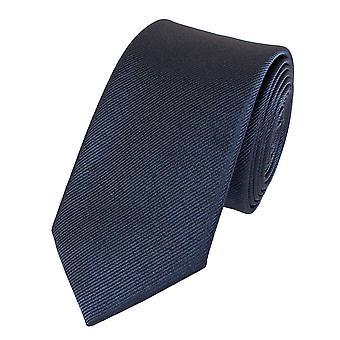 Slips tie ties binder 6cm blue uni textured Fabio Farini