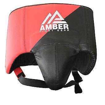 Amber Kampf Gear MMA Abdominal-Guard Boxen Kickboxen Leistengegend Cup Protector Tiefschutz Muay Thai