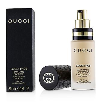 Gucci Gucci Face Satin Matte Foundation Spf 20 - # 140 - 30ml/1oz