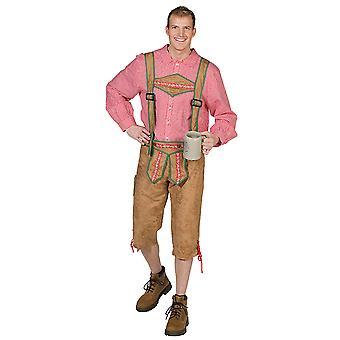 Karohemd Bayernhemd Oktoberfest Wiesnhemd Kostüm für Herren