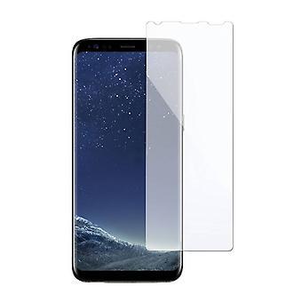 Stoff zertifiziert® Bildschirmschutz Samsung Galaxy S8 gehärtetem Glas Film Extra klein