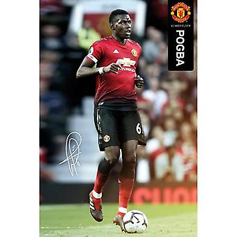 Manchester United Poster Pogba 49