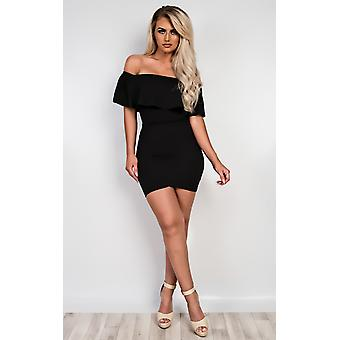 IKRUSH Womens Cassidy Off Shoulder Bodysuit