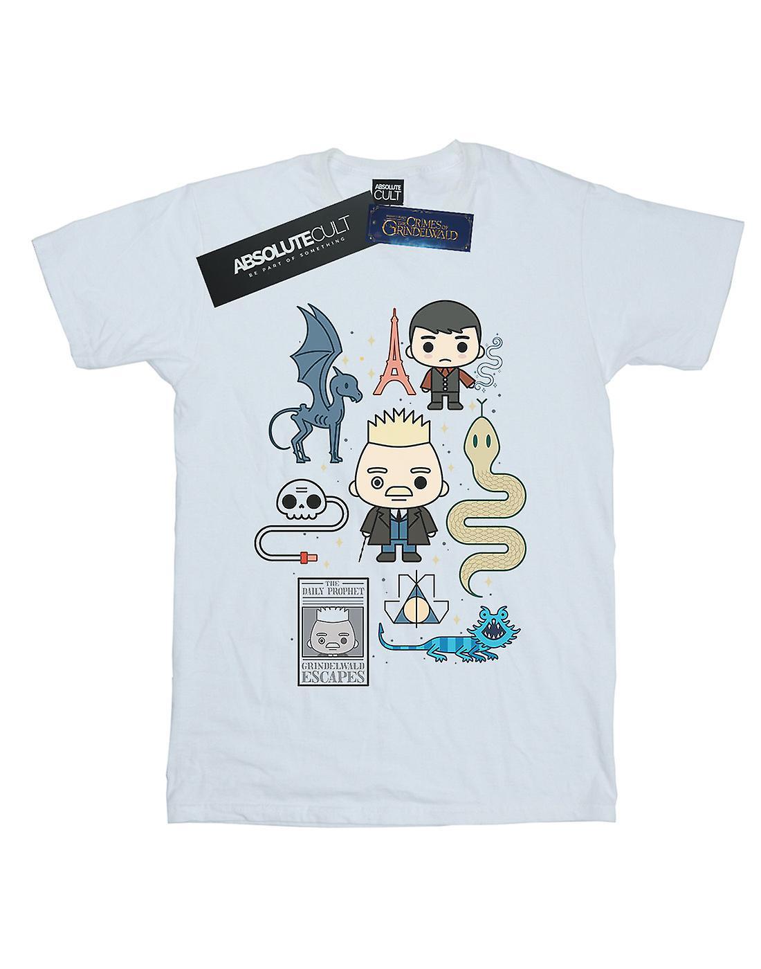 Fantastic Beasts Boys Chibi Grindelwald T-Shirt