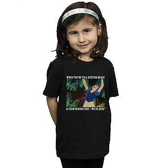 Disney Princess Mädchen Schneewittchen noch immer bereit-t-Shirt