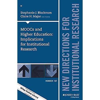 MOOCs en het hoger onderwijs - implicaties voor institutioneel onderzoek-