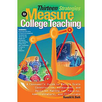 Dertien strategieën voor maatregel College onderwijs - een consument gids f