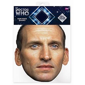 Christopher Eccleston Doctor Who Card Fancy Dress Mask (The Ninth Doctor)