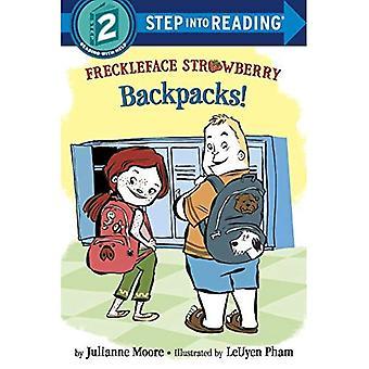 Freckleface Strawberry: Rucksäcke! (Einzelschritt Lesung)