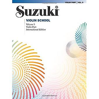 Suzuki Violin School, Vol 5: Violin Part
