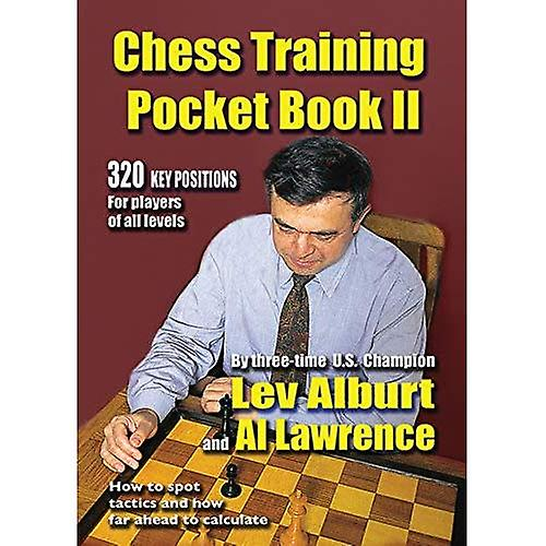 Chess Training Pocket Book: No. 2: How to Spot Tactics and How Far Ahead to Calculate