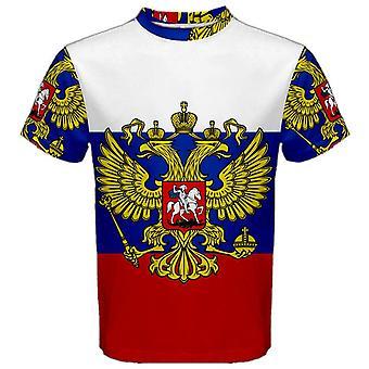 ロシア連邦の紋章付き外衣昇華スポーツ ジャージ