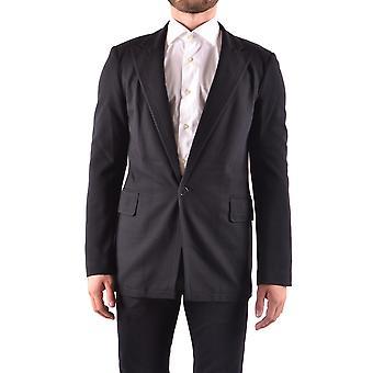 Bikkembergs Ezbc101053 Men's Black Nylon Blazer