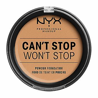 NYX PROF. MAKEUP Can ' t stop Won ' t stop Powder Foundation-Soft Beige