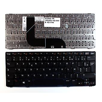 Dell Inspiron 14Z-5423 Glossy Black Frame Black Windows 8 French Layout Replacement Laptop Keyboard