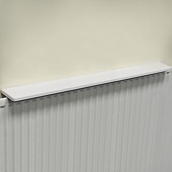 Chunky Gloss Over Radiator plat 120cm / 4ft - wit