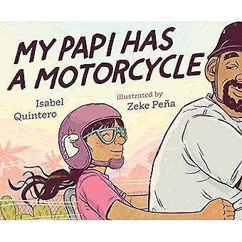 Mijn Papi heeft een motorfiets