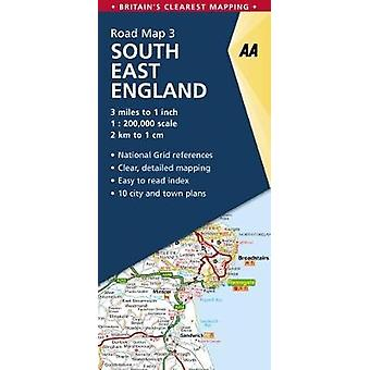 South East England por AA Publishing-9780749579036 livro