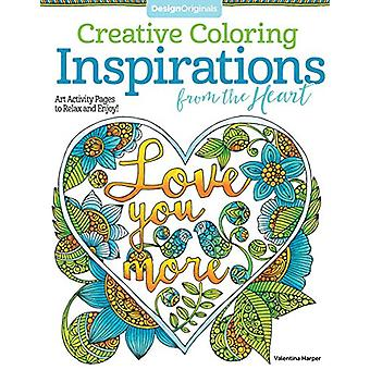 Creative Coloring Inspirations from the Heart - Art Activity Pages to