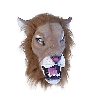 Bristol Novelty Unisex Realistic Lion Head Mask