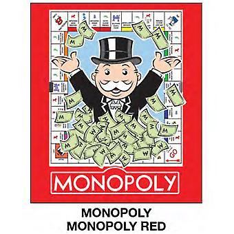 Super Soft Throws-Monopoly-monopoli punainen uusi 45x60