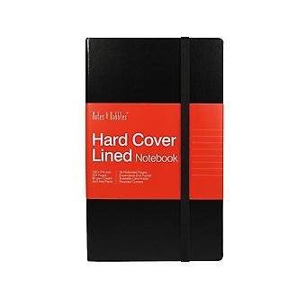 Notes & Dabbles Pippa Notebook Lined Paper With Hard Cover - Various