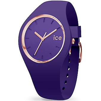 Ice Watch Ice-glam Japanin kvartsi analoginen nainen katsella silikoni ranne koru IC015695