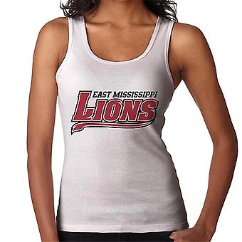 East Mississippi Community College Lions Dark Tail Logo Women's Vest