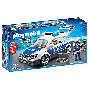 Playmobil 6920 City Action Police Squad Car With Lights and Sound Playset