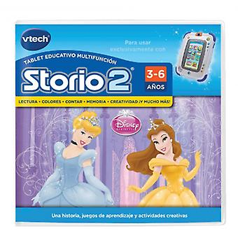 Vtech game Princesses Storio (Spanish version)
