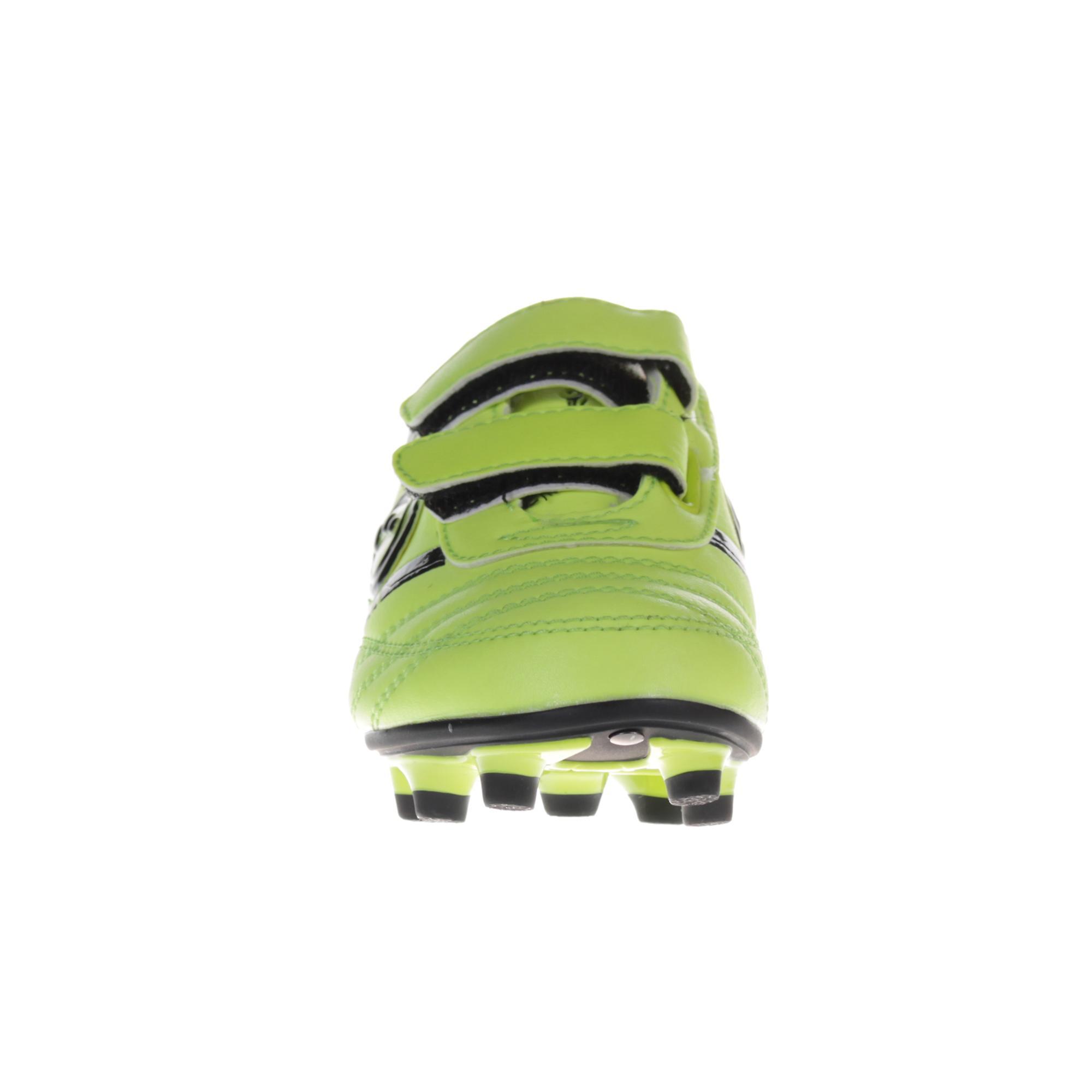 Optimum Tribal Strap Moulded Kids Football Boot Yellow/Black