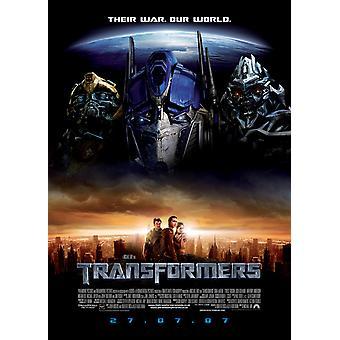 Transformers (Double Sided Regular) Original Cinema Poster