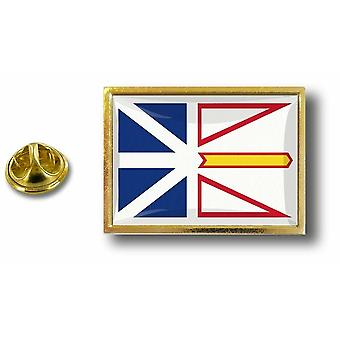 pins pin badge pin's metal  drapeau canada terres neuves labrador