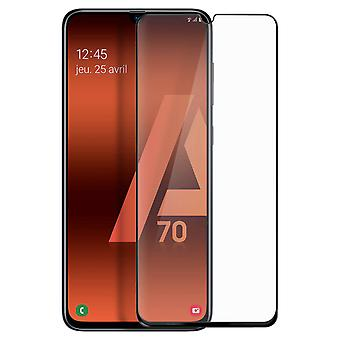 9H Tempered Glass Screen Protector for Samsung Galaxy A70 Beveled Edges