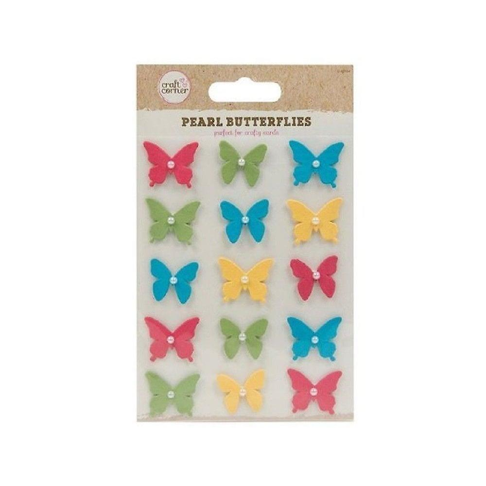 ITP Pearl Butterflies - 15 Pack - Craft