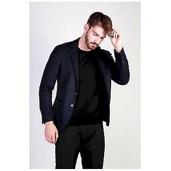 Made in Italia - Clothing - classic jacket - RODOLFO_BLU - Men - midnightblue - 50