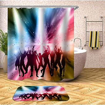 The 80' 90' Disco Shower Curtain