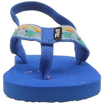 Teva Girls mush II Bungee Ankle Strap Flip Flops